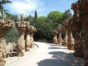Le Parc Güell barcelone