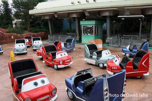 Cars Quatre Roue Rallye