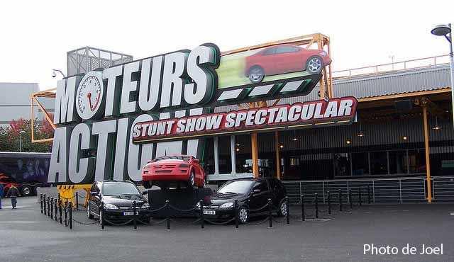 Moteur Action Stunt Show Spectaculaire