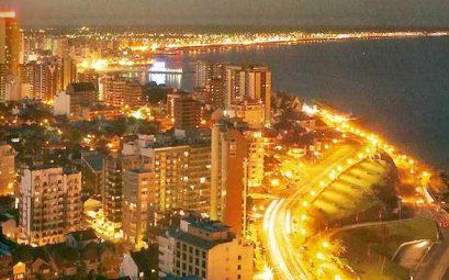 ville d'argentine la nuit