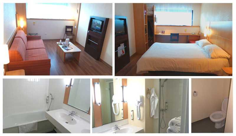 chambre hotel ibis futuroscope