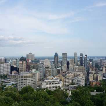 Une visite éclair à Montréal