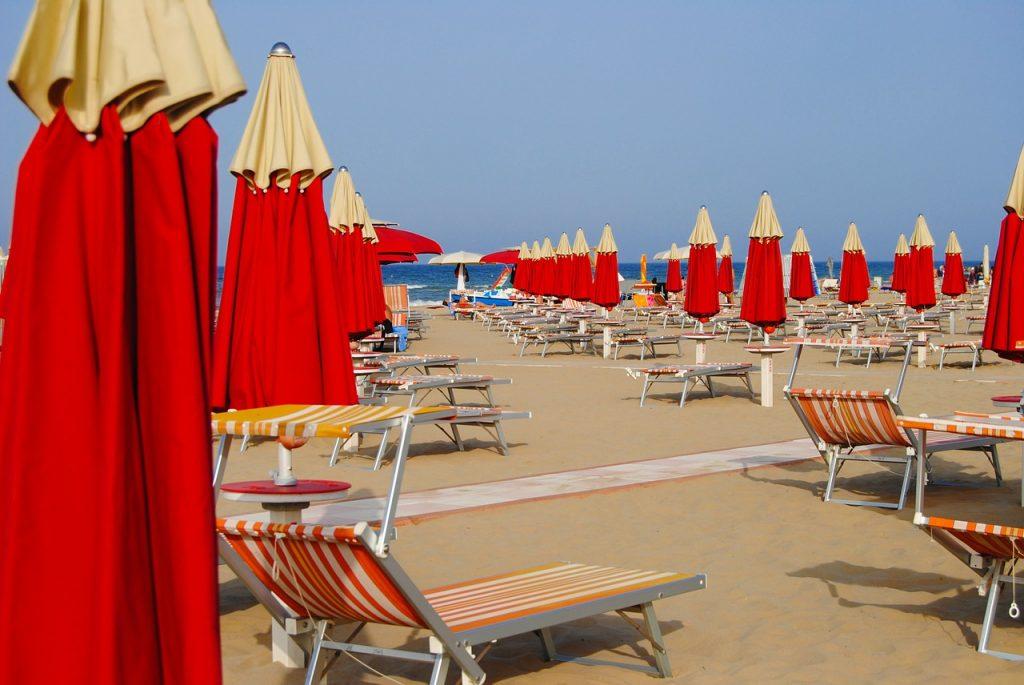 Rimini plage