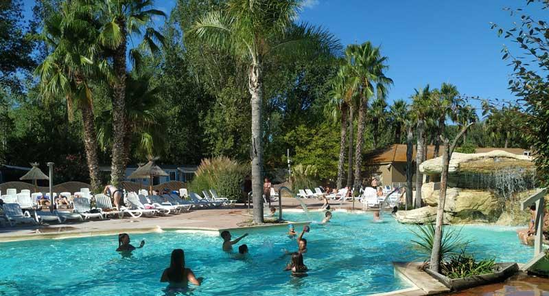 piscine camping les vagues sandaya